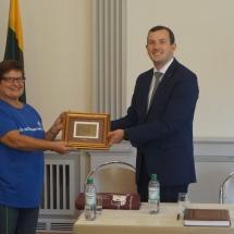 Lietuvos Respublikos ūkio ministro vizitas (Foto: M.D.Schmidt)