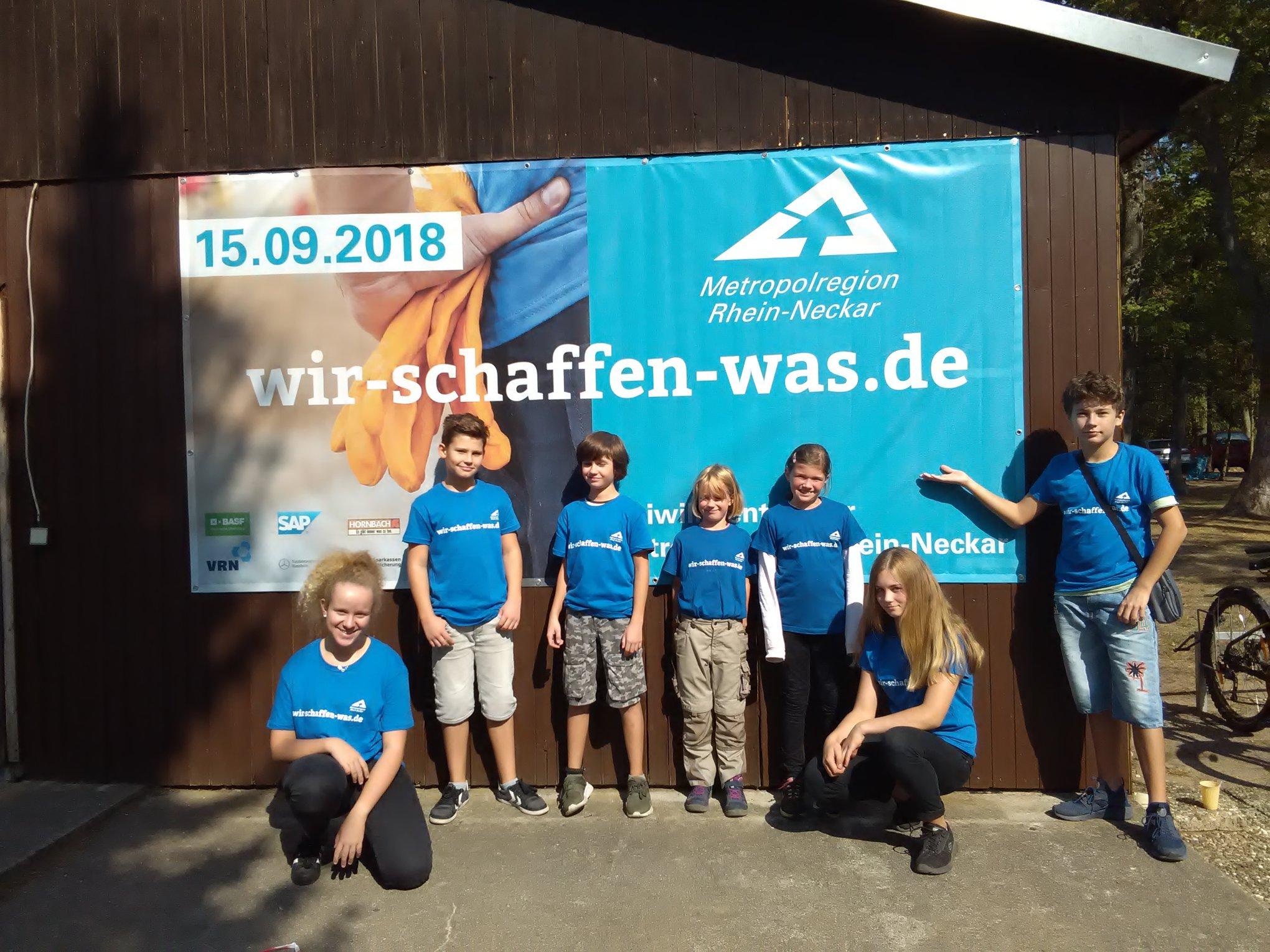 """Freiwilligentag """"Wir schaffen was"""", 2018"""