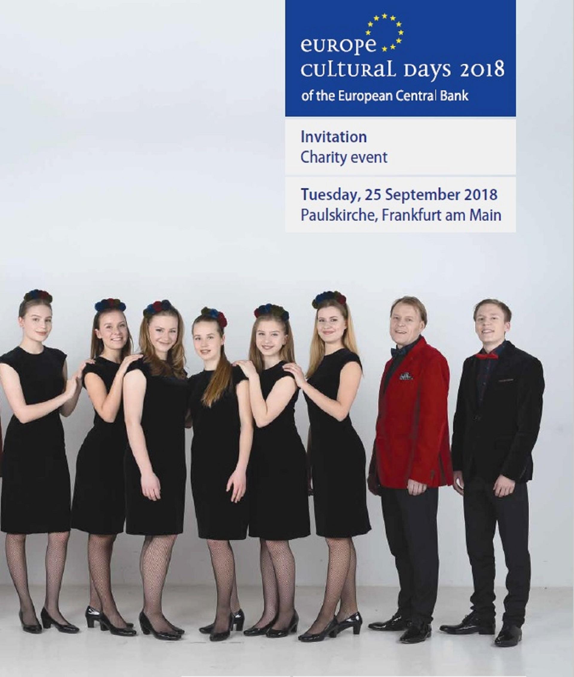 Besuch beim Charity-Konzert in der Paulskirche in Frankfurt am Main (Foto: J. Vaitkienė)