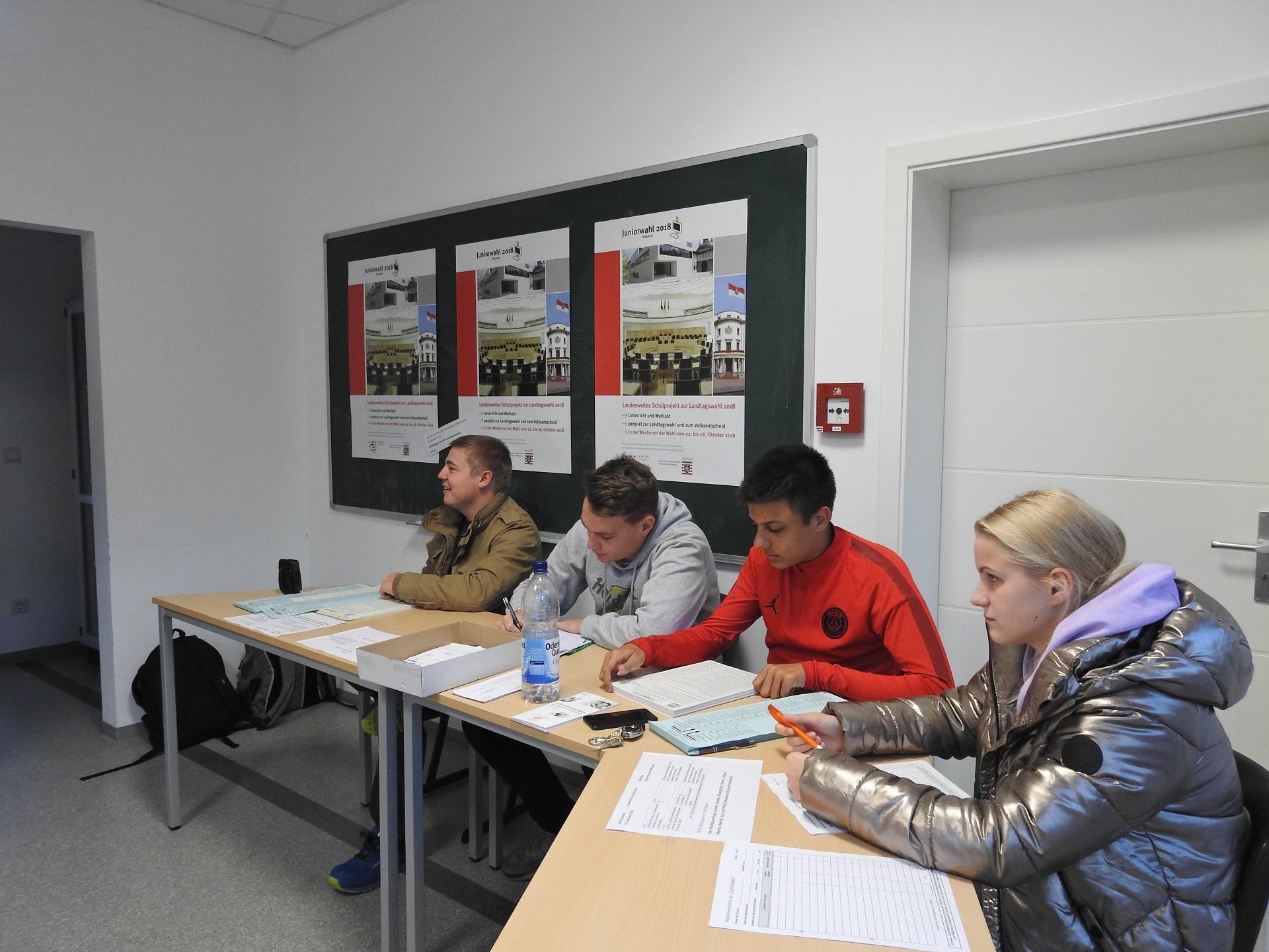 Politik mitgestalten – wählen gehen – Juniorwahlen Hessen 2018