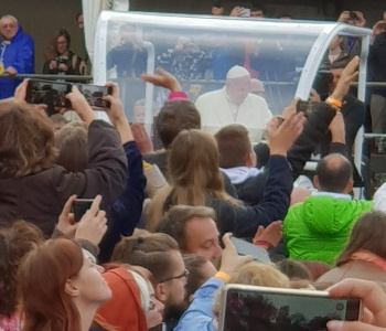 Susitikimas su Popiežiumi Lietuvoje
