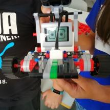 Ferienakademie des Staatlichen Schulamtes - Lego Mindstorms (Foto: R. Lendraitis)