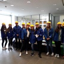 Interdisziplinäre Werksbesichtigung bei der BASF in Ludwigshafen (Foto: Dr. G. Hossmann)
