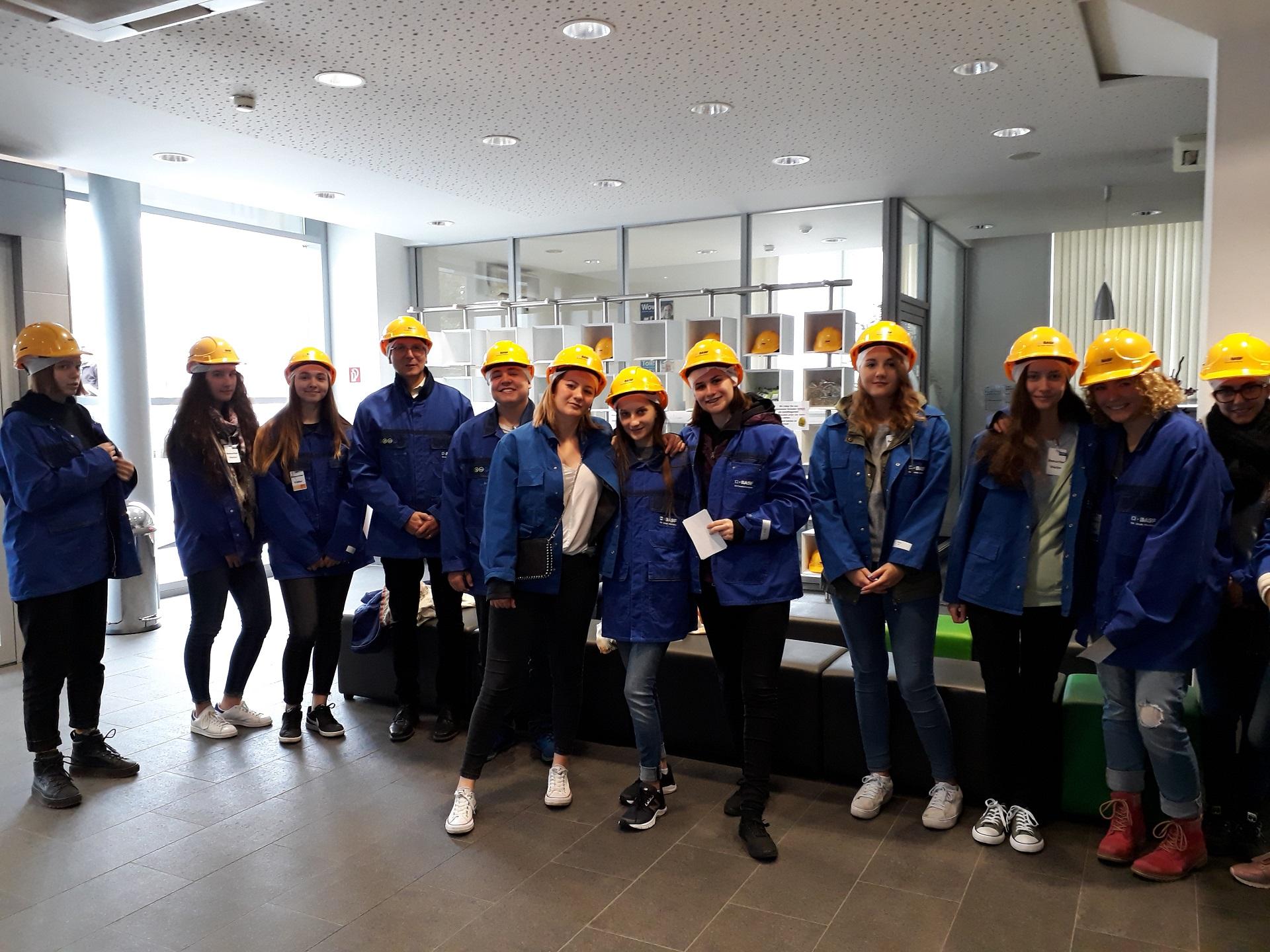 Išvyka į BASF – integruota pamoka netradicinėje erdvėje