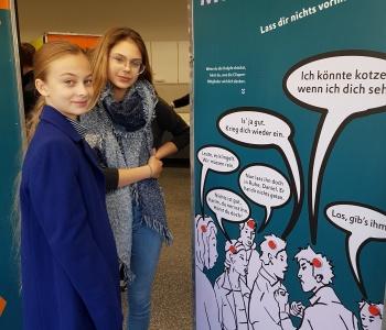 """Ausstellung zur Gewaltprävention """"Echt fair!"""""""