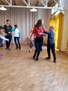 """Svečiuose vaikų folkloro ansamblis """"Serbentėlė"""" (Foto: D. Kriščiūnienė)"""