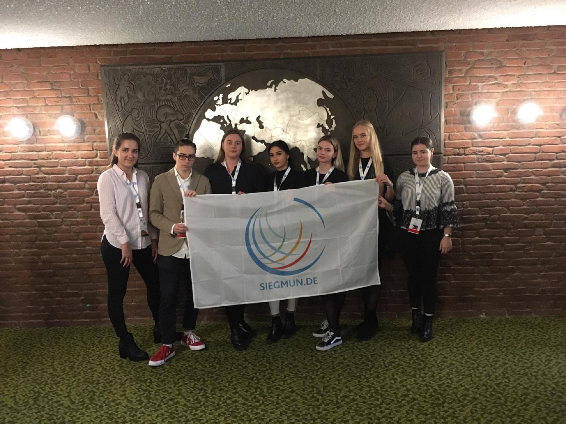 """Jungtinių Tautų Organizacijos darbo simuliacija """"SiegMUN 2018"""""""