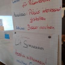 """""""Du bist der Chef im Ring"""" – Präsentieren im digitalen Zeitalter (Foto: Dr. G. Hoffmann)"""