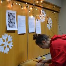 Bendrabutyje Kalėdų belaukiant - Meduolių kepimas (Foto: G. Ručys)