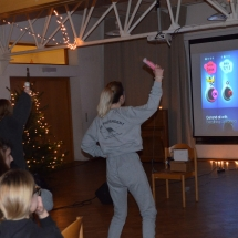 "Bendrabutyje Kalėdų belaukiant - ""Just Dance"" (Foto: F. Nader, 9 kl.)"