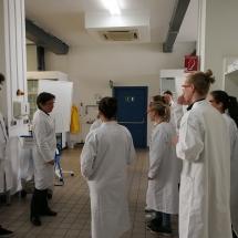 Ein Forschertag im Oberstufenlabor der BASF (Foto: I. Vrubliauskaitė)