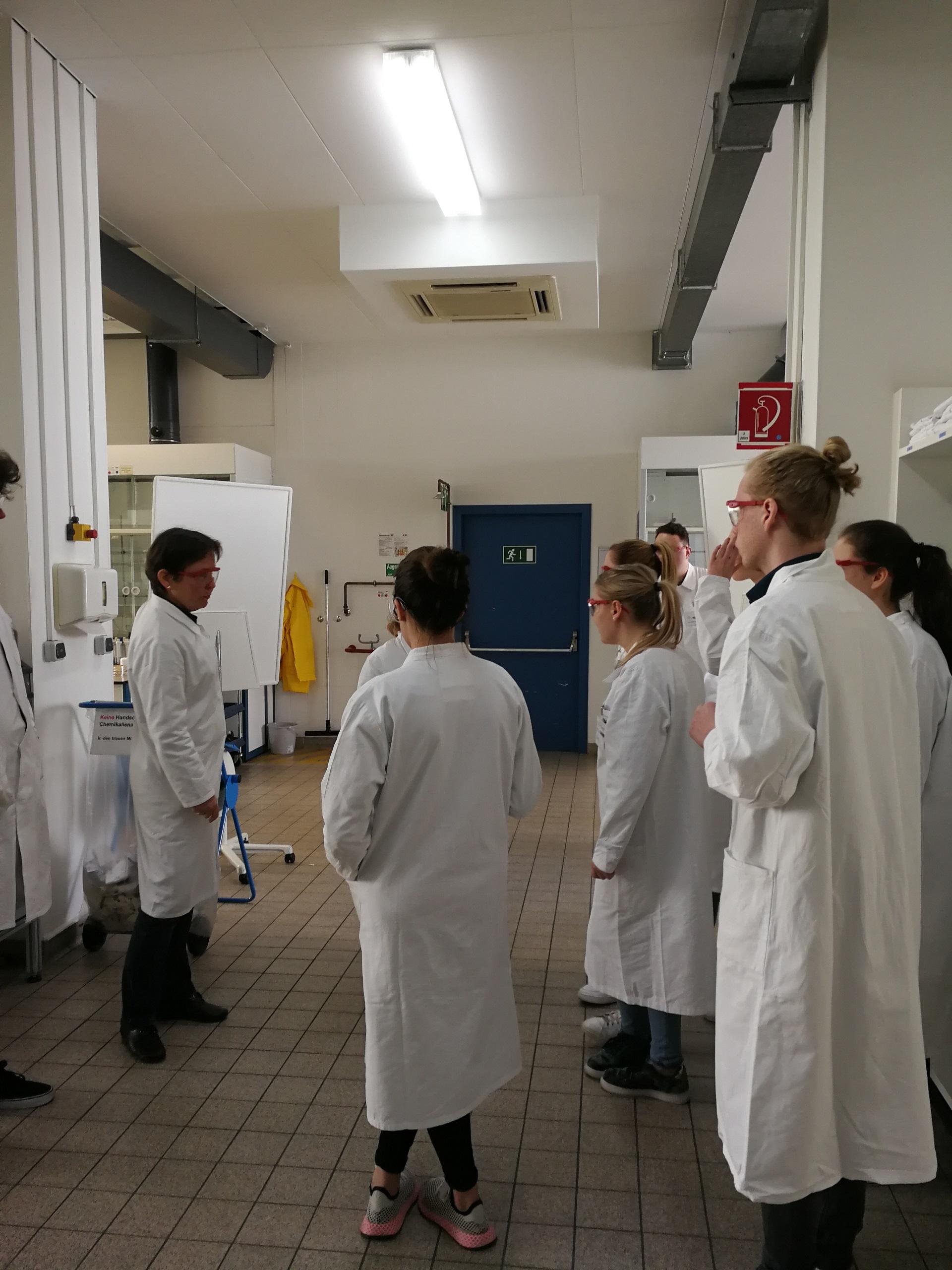 Ein Forschertag im Oberstufenlabor der BASF