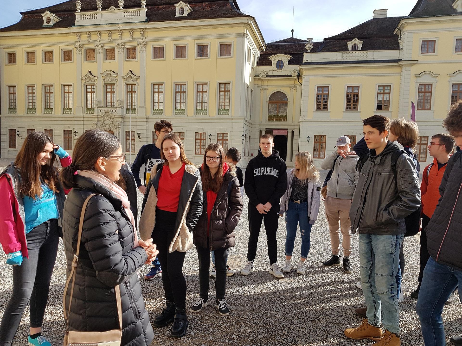 Auf ins Residenzschloss Ludwigsburg