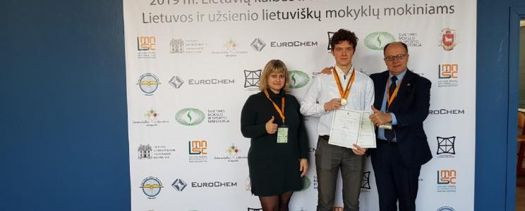 Zweifache Auszeichnung bei der Litauisch-Olympiade!