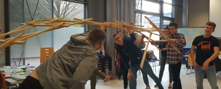 Projekt: SchulBrücke Europa
