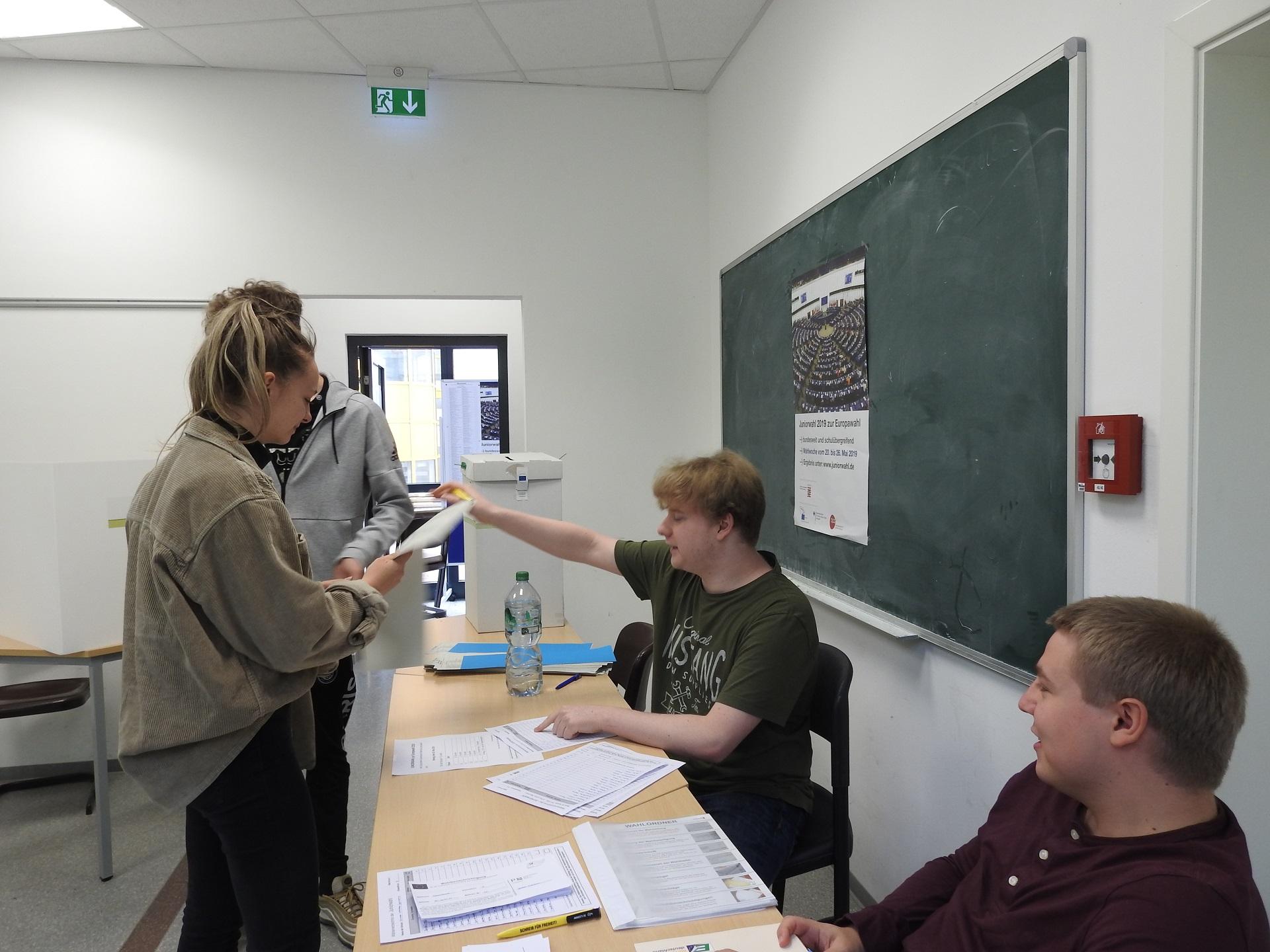 Wir haben gewählt! – Juniorwahl zur Europäischen Union