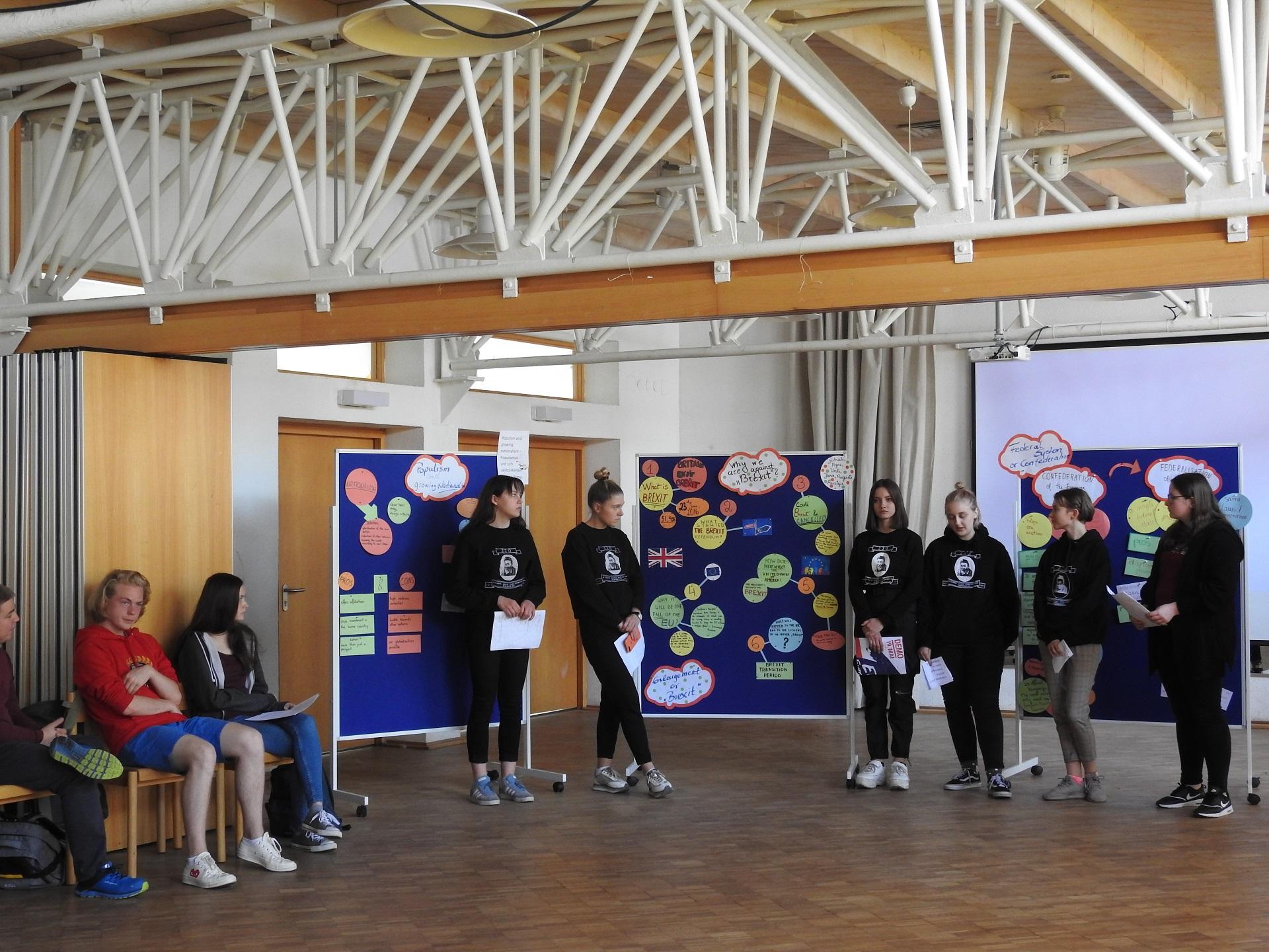 Schulpartnerschaft: Besuch von Vertreterinnen des Kaunas Jonas Jablonskis Gymnasiums