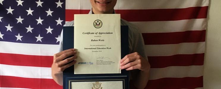Abschluss USA Ruben Werle