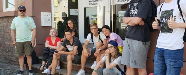 Katalikiško jaunimo grupės stovykla Odenvalde