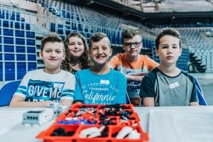Robotikos Konkurso dalyviai (Foto: S. Hofmann)