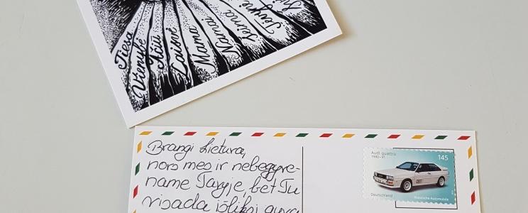 """Projekt """"101 Postkarten an die litauische Welt"""""""