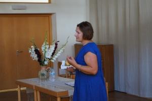 Susitikimas su poete Nijole Daujotyte-Kuoliene (Foto: M.D. Schmidt)