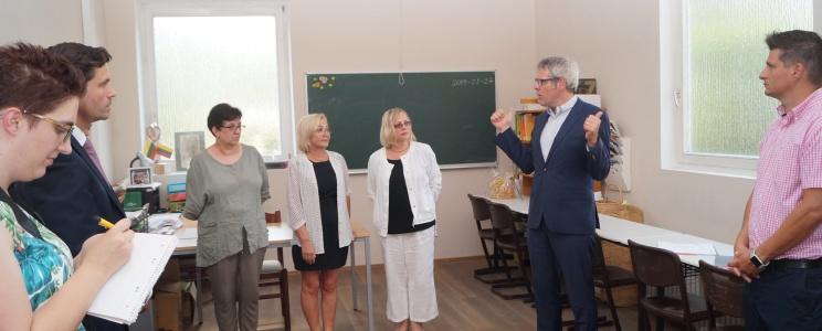 Der Bezirk Bergstraße unterstützt das Private Litauische Gymnasium