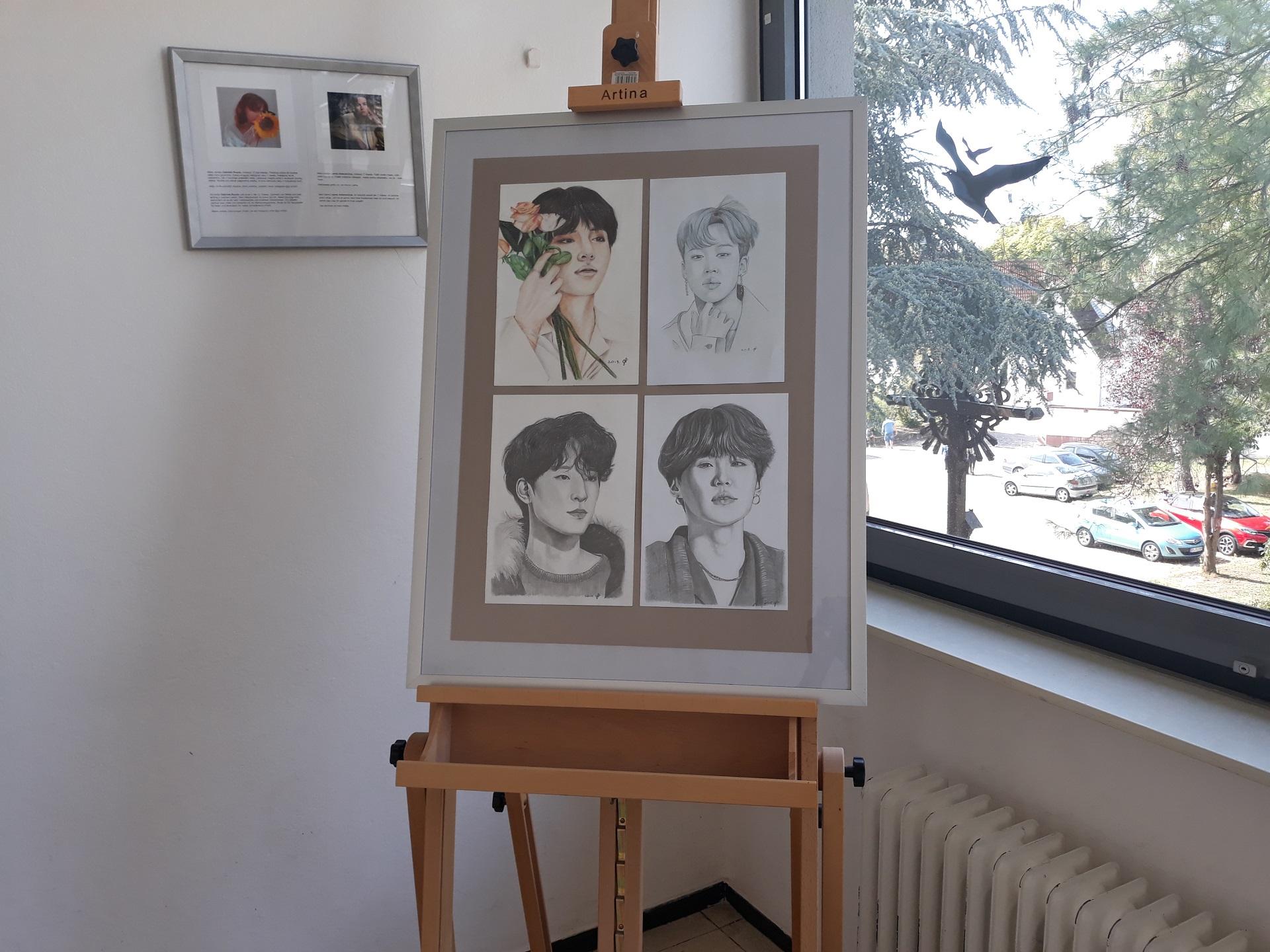 Erfolgreiche Teilnahme an Kunstwettbewerb