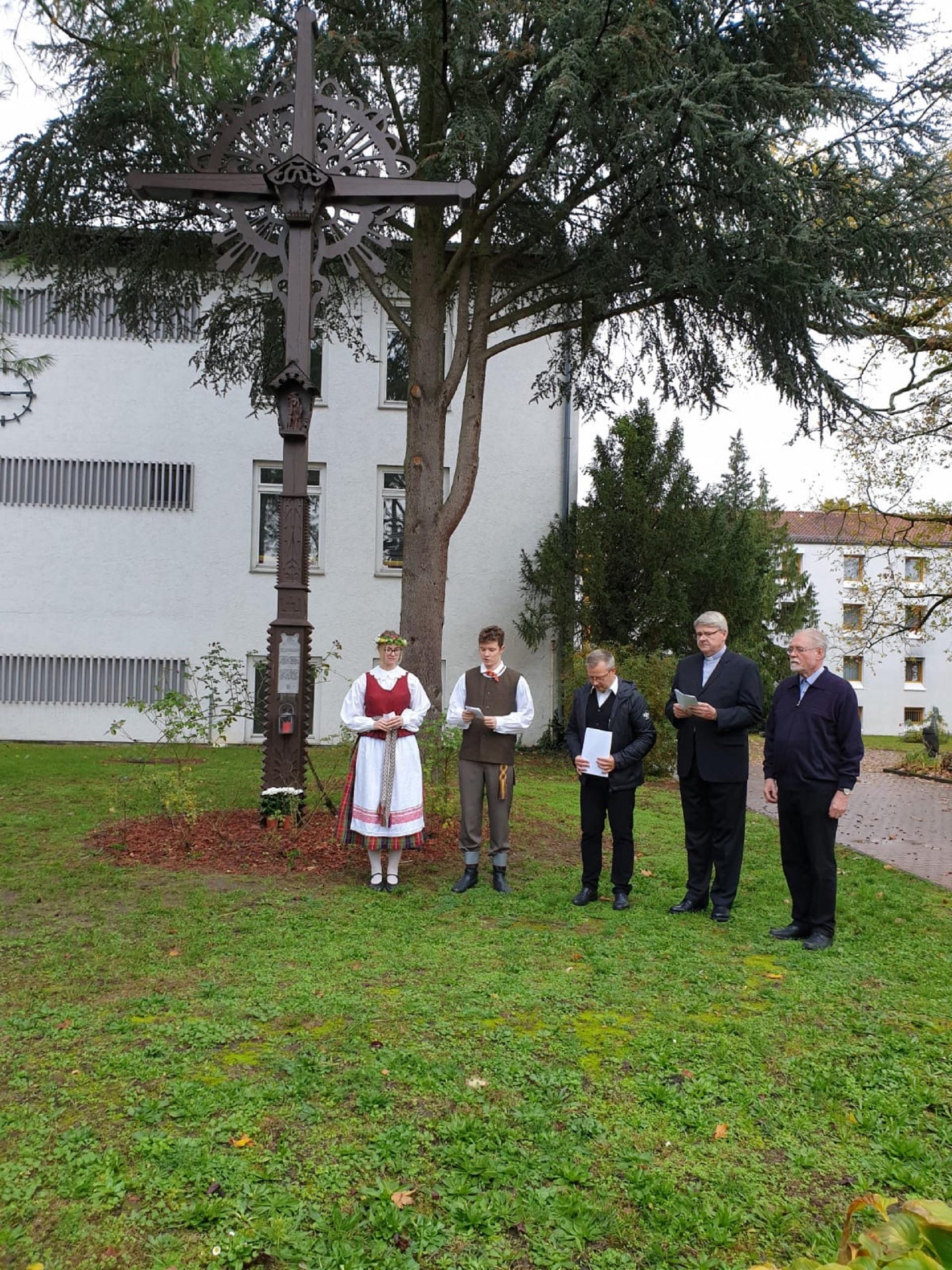 Lietuvos Šventųjų koplyčios 30-osios pašventinimo metinės (Foto: dr. V. Grigutis)