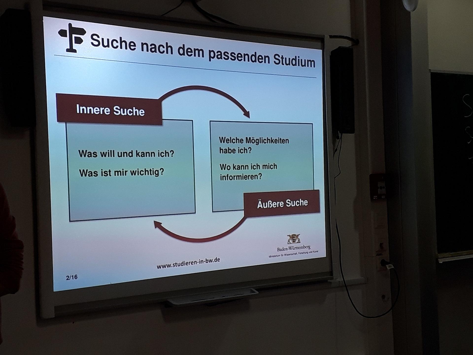 """""""Studienbotschafter – BW"""" – Berufs- und Studieninformation auf Augenhöhe (Foto: Dr. G. Hoffmann)"""