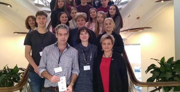 Bendradarbiavimas Europos kontekste. Išvyka į Kauno Jono Jablonskio gimnaziją – pirmieji įspūdžiai ir informacija