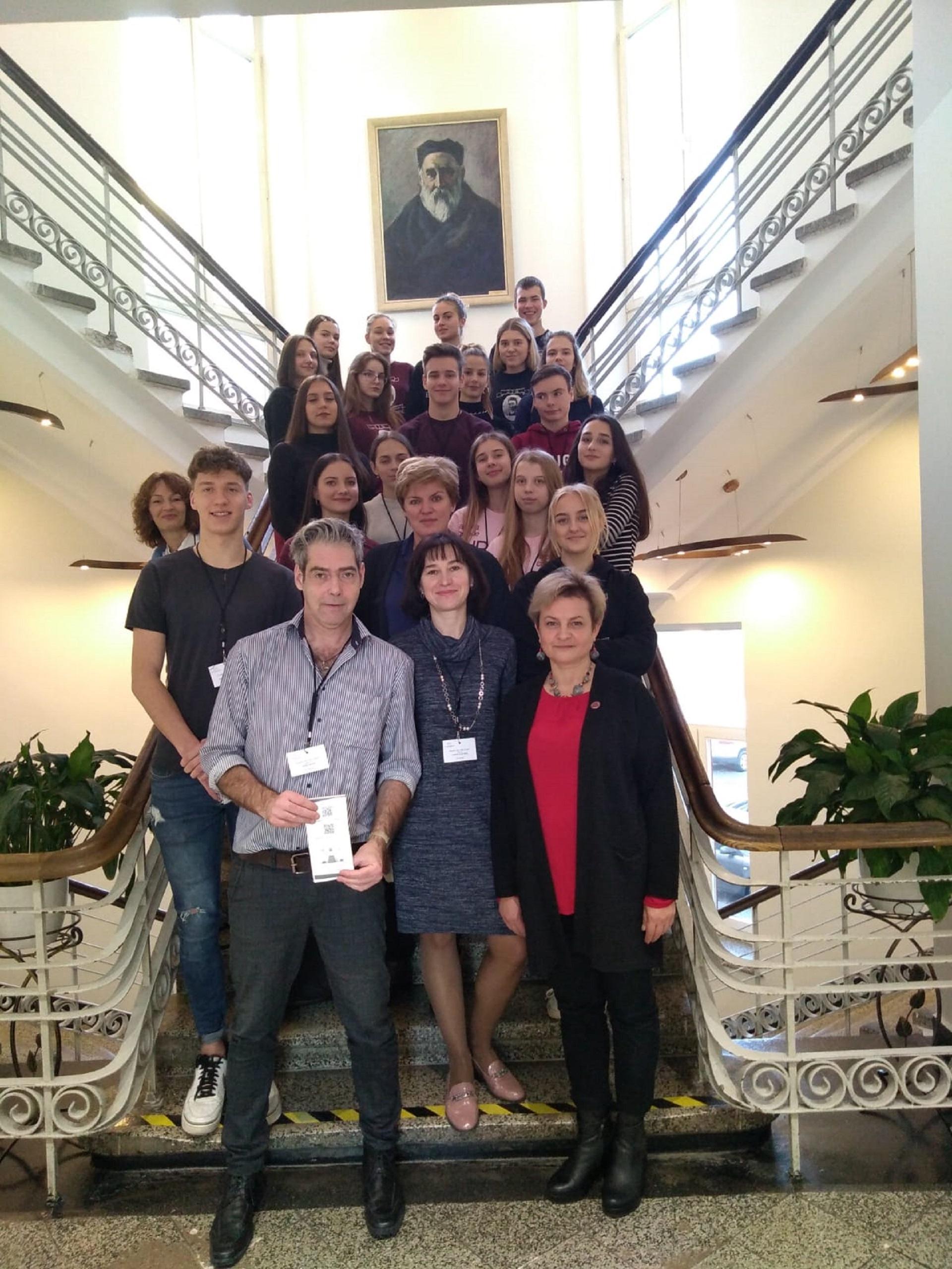 Zusammenarbeit im europäischen Kontext: zu Gast bei unserer Partnerschule in Kaunas – Erste Eindrücke und Informationen