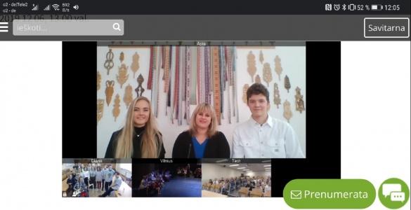 Online-Festival für die Kinder der Welt-Litauer