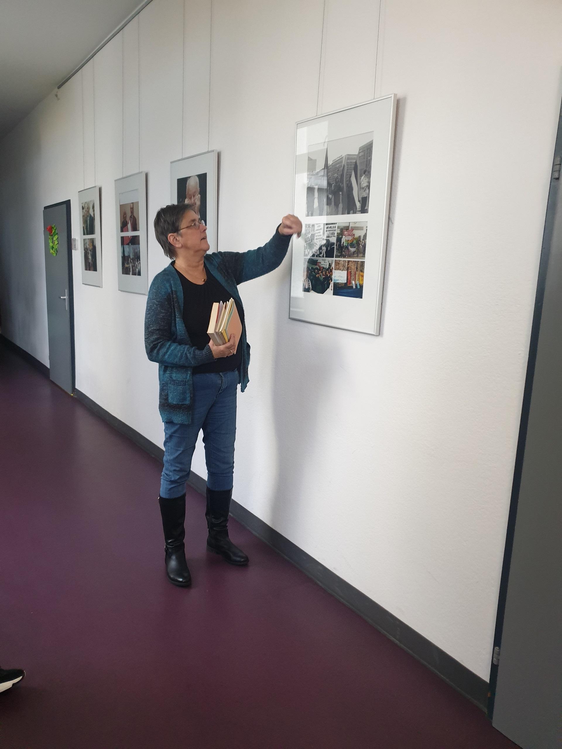 Pamoka, skirta Vasario 16-osios gimnazijos 70-mečiui ir Lietuvos Nepriklausomybės atkūrimo 30-mečiui paminėti (Foto: Frederik N.)