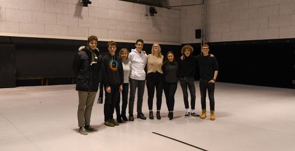 Nacionalinio Manheimo teatro šokėjų repeticijoje