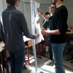"""Schülerfirma """"All!in"""" Mitarbeiter*innen auf Fortbildung (Foto: Dr. G. Hoffmann)"""