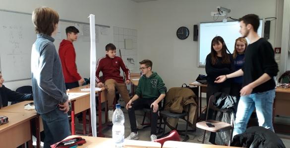"""Schülerfirma """"All!in"""" Mitarbeiter*innen auf Fortbildung"""