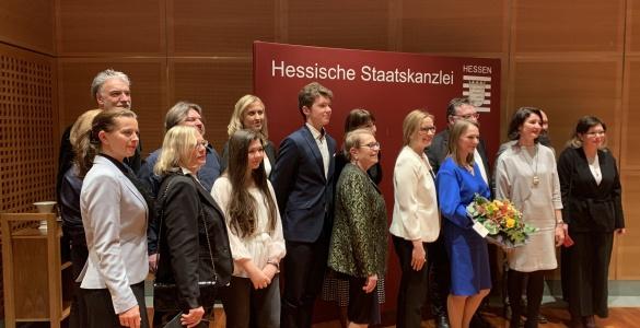 """""""Europäischer Salon"""" in der Hessischen Staatskanzlei"""