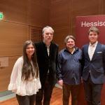 """""""Europäischer Salon"""" in der Hessischen Staatskanzlei (Foto: Pia R.)"""