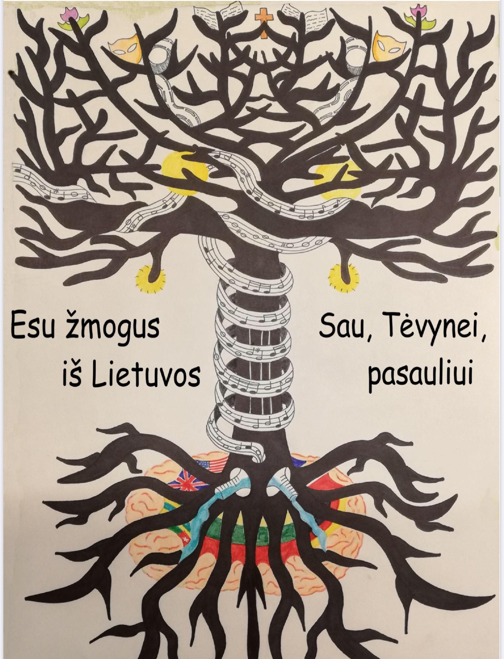 """Projektas """"Esu žmogus iš Lietuvos sau, Tėvynei, pasauliui"""""""