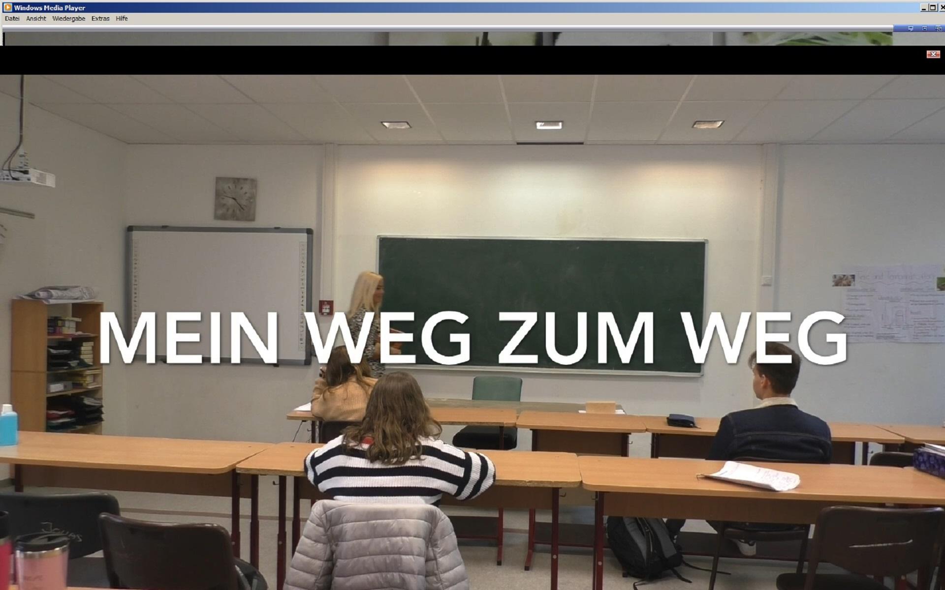 """Team """"PoWi LK 12"""" unter den Nominierten im Wettbewerb """"Meine Ausbildung 2020 – Du führst Regie"""" des Hessischen Rundfunks (hr) (Foto: Dr. G. Hoffmann)"""