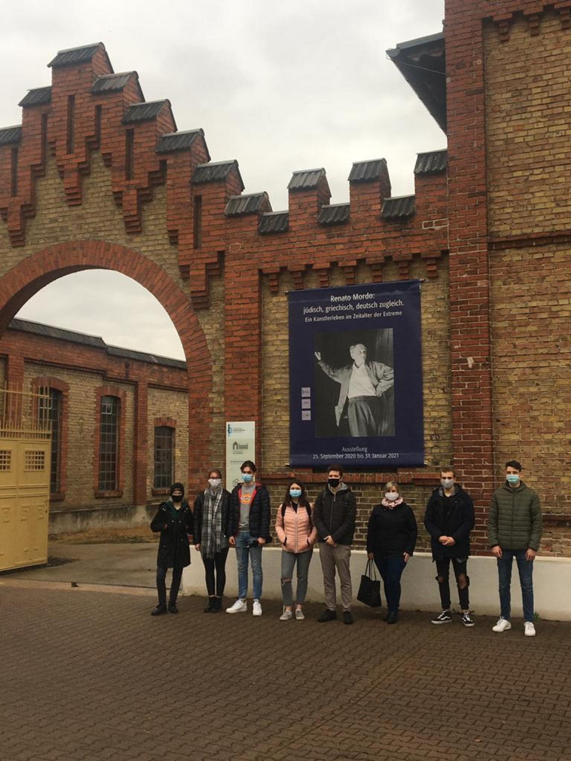 Išvyką į buvusią koncentracijos stovyklą Osthofene (Foto: dr. V. Grigutis)