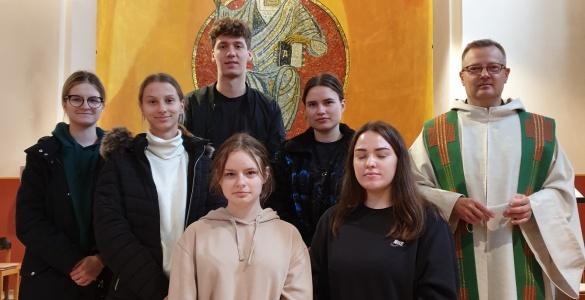 Pasiruošimas Sutvirtinimo sakramentui Jackobsberg vienuolyne