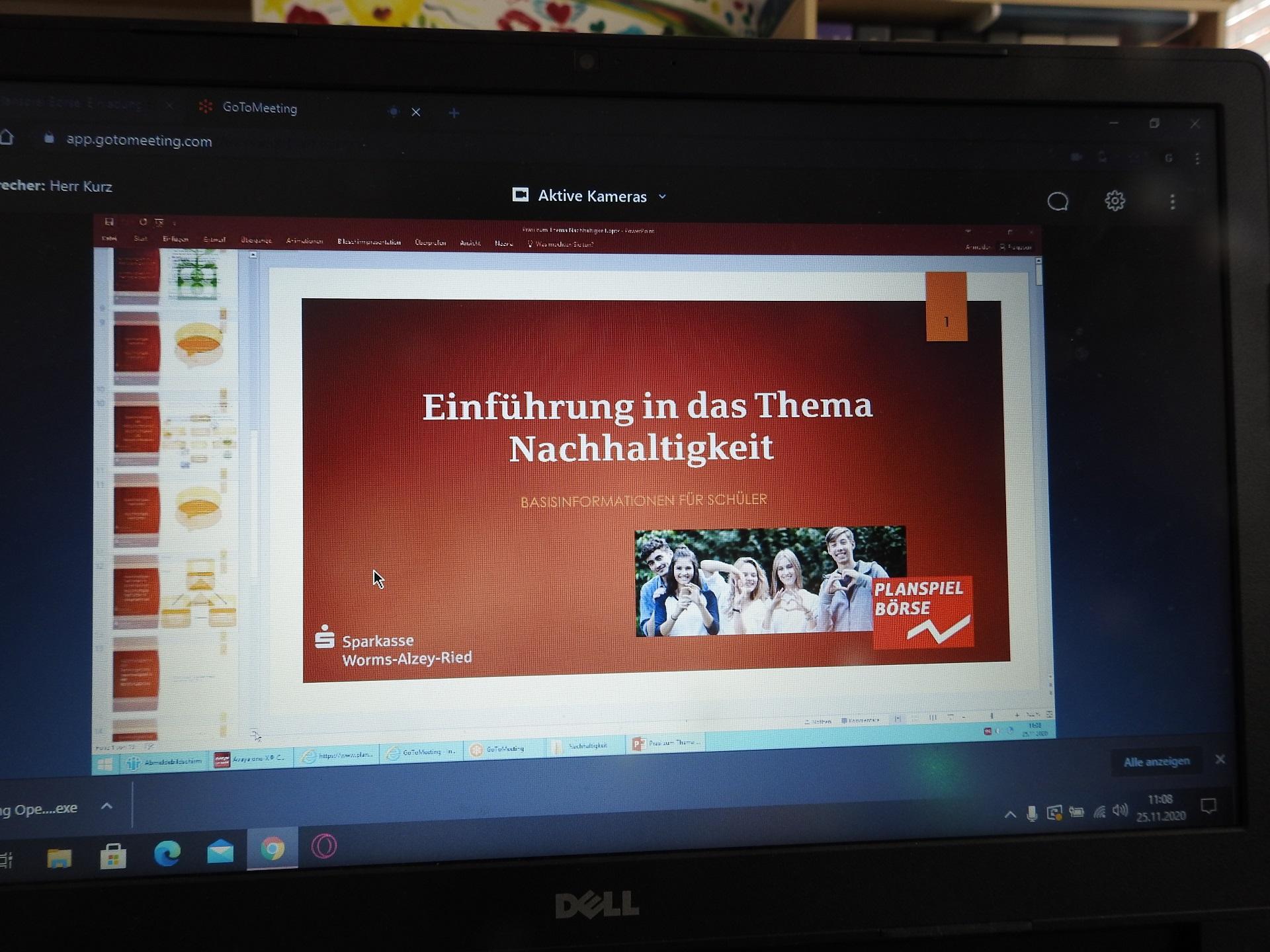 """Endspurt im """"Planspiel Börse""""  – Digitales Wertpapierforum für die Teilnehmer*innen"""