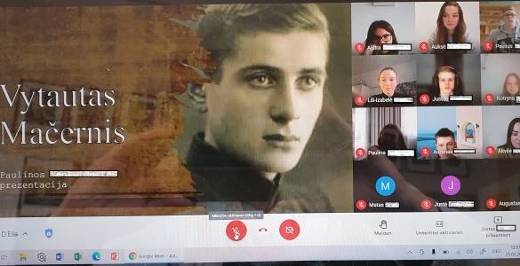 Minime poeto Vytauto Mačernio 100-ąsias gimimo metines