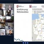 """Planspiel: """"Ab durch die Mitte? - Netzausbau in Hessen"""" (PrintScreen: M. Ruschau)"""