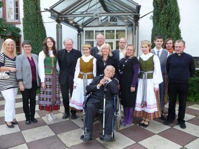 Generalvikar des Bistums Mainz Prälat Dietmar Giebelmann zu Besuch