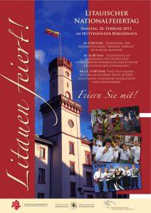 Litauischer Nationalfeiertag am 26. Februar 2011!