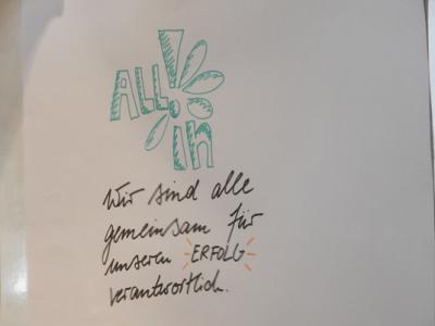 """Schülerfirma des Litauischen Gymnasiums """"All!in"""""""