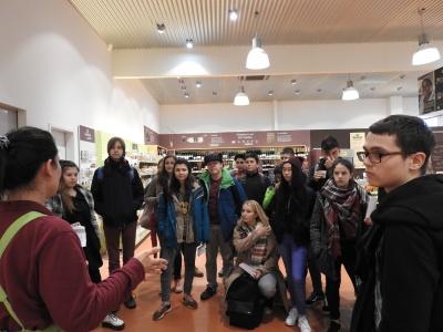 Unternehmensbesuch bei Alnatura in Viernheim – All!in auf dem Weg zur nachhaltigen Schülerfirma